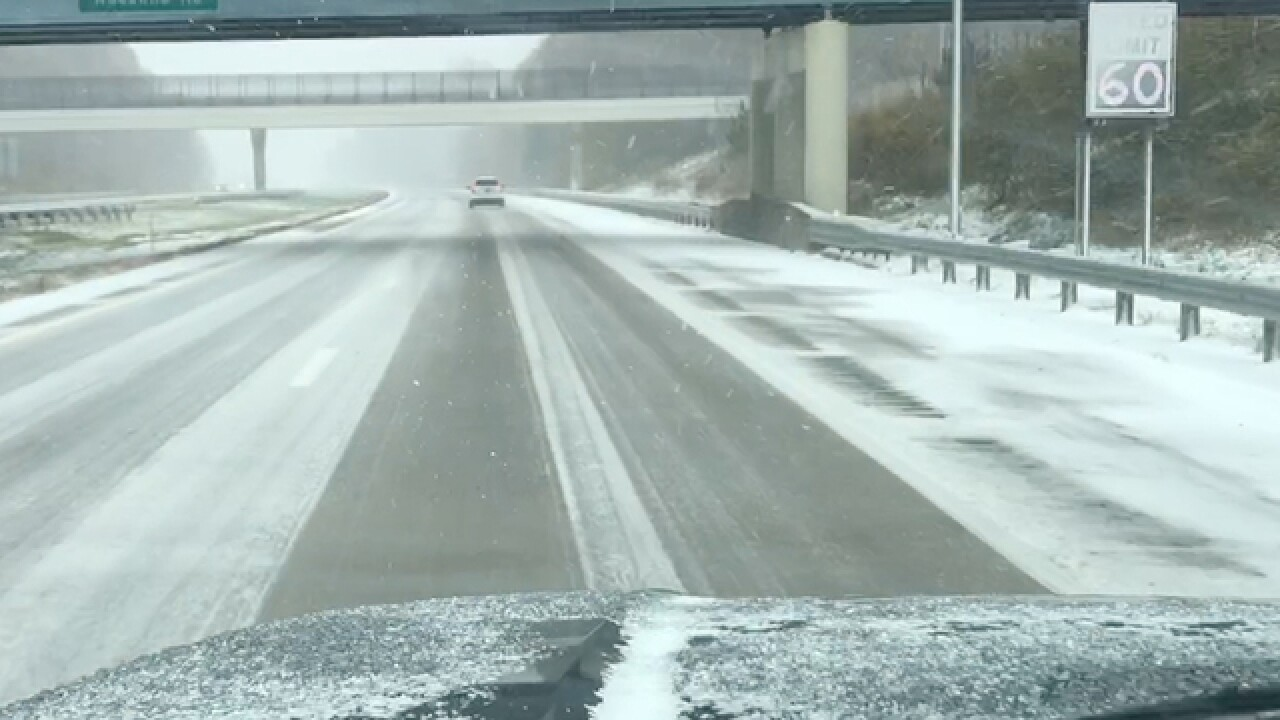 ODOT reduces speed on portion of I-90 in Lake County as a precaution ahead of weather conditions