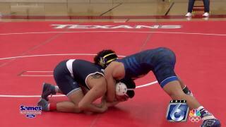 District 15-5A wrestling tournament