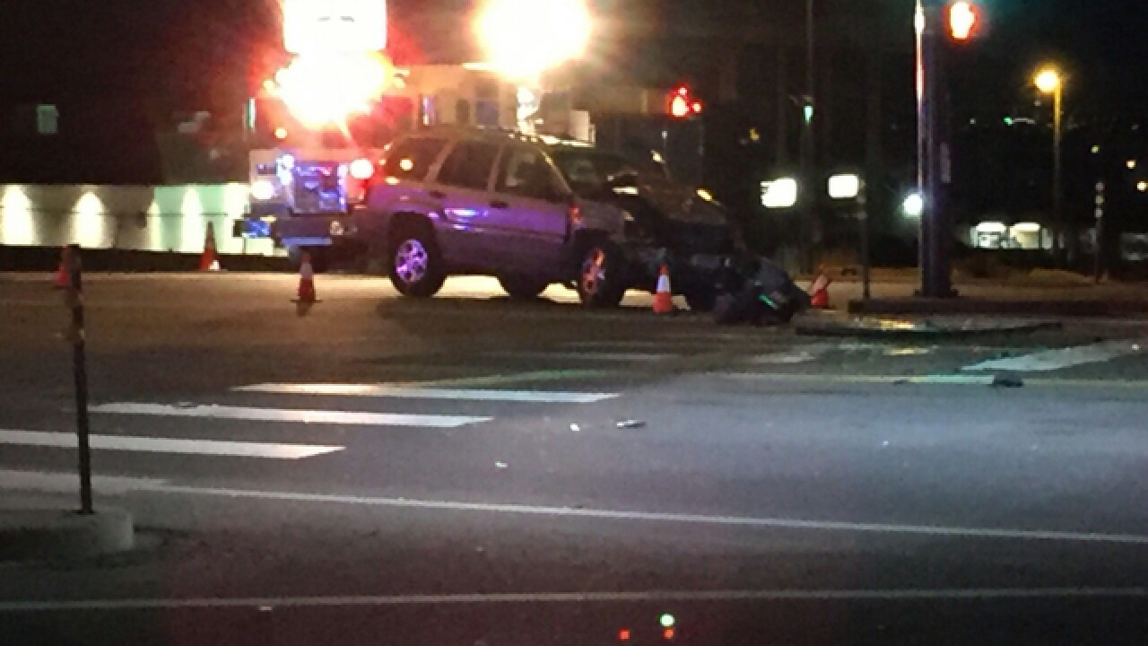 One killed in crash at 80th and Sheridan