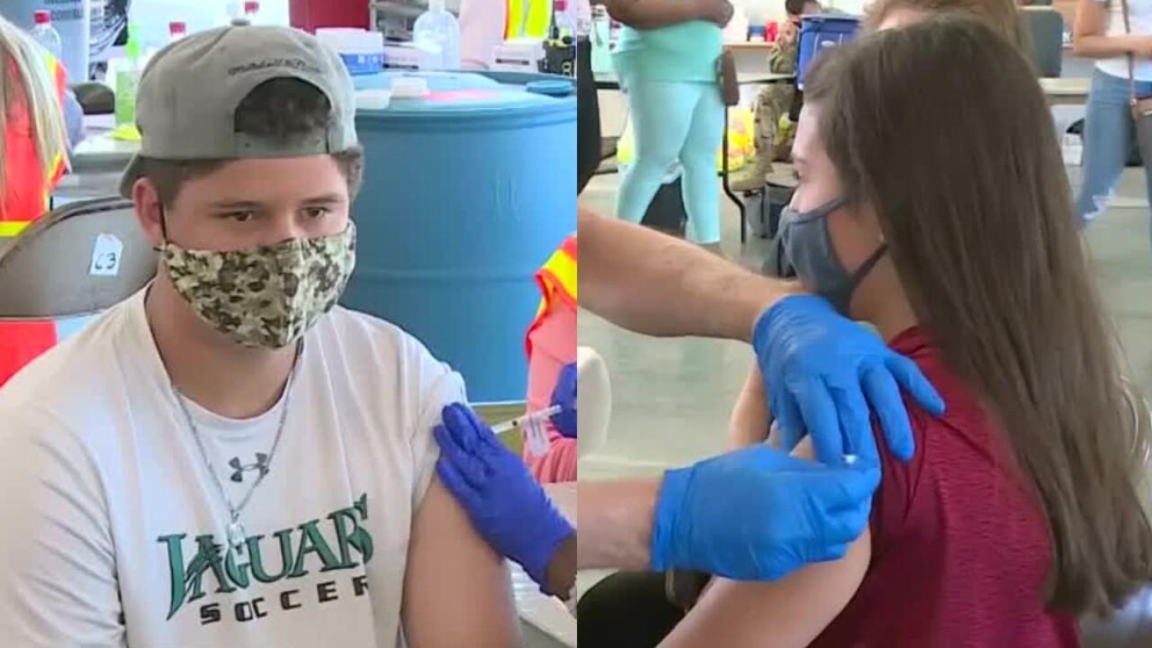Kids Vaccinated Richmond Raceway