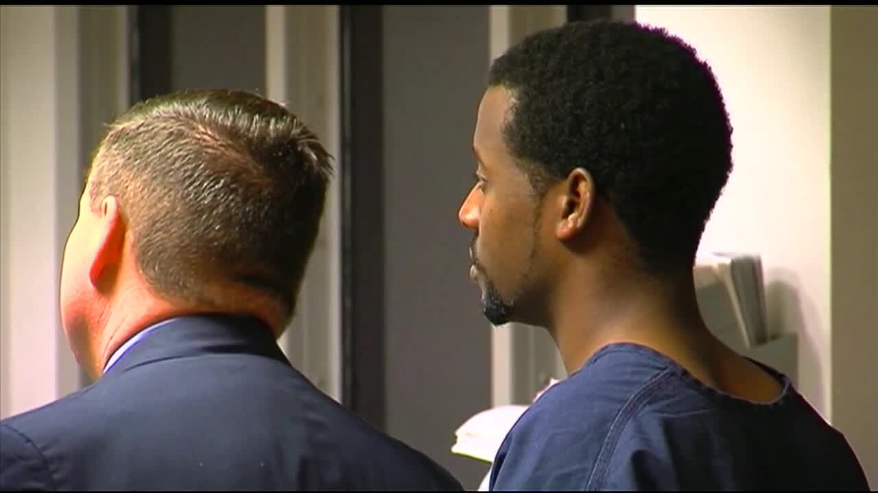 Narcisse Antoine in court during first appearance after 2009 arrest