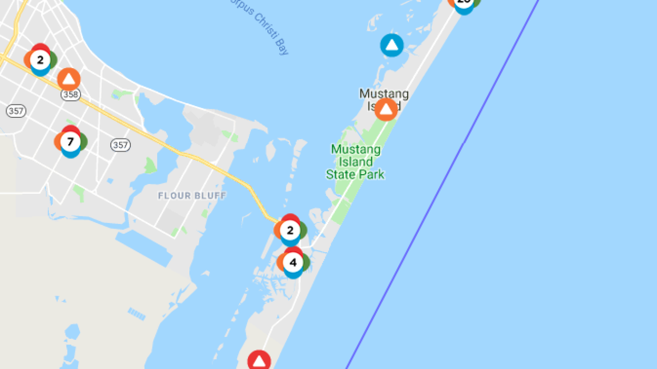 8,852 power outages on Padre Island and Mustang Island on winter storm watch map, blendon township zoning map, aep power restoration map, wv power outages map, ohio power grid map, aep pirkey power plant, duke energy ohio map, aep ohio electric service map, aep texas map, aep coverage map, oil pipeline map, aep ohio service area map, aep power plants indiana, aep ohio customer service, ohio edison firstenergy map, aep kentucky power, aep power plant map, aep outages by county, peco service territory map, northeast power outages map,