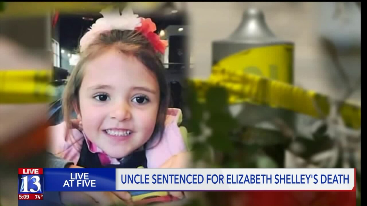 Uncle sentenced in kidnapping, rape and murder of 5-year-old Elizabeth Shelley