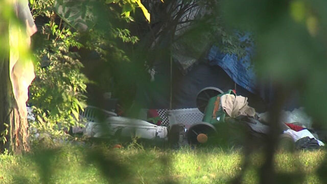Neighbors concerned about E. side homeless camp