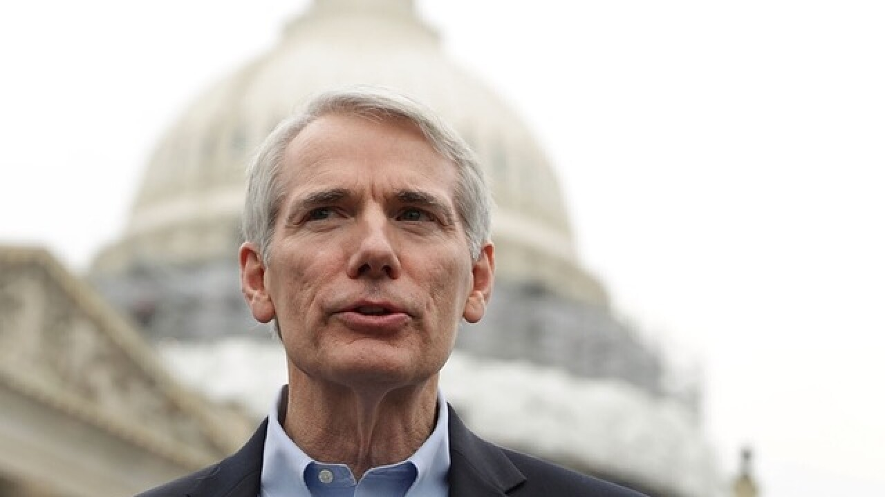 GOP Sen. Rob Portman, pummeled, says no on health bill