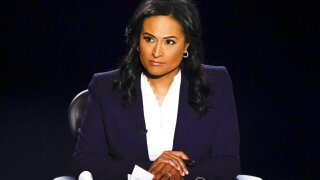 NBC's Kristen Welker sharp in first turn as debate moderator