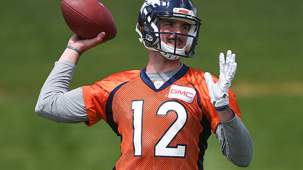 A little Q & A with rookie quarterback Paxton Lynch as Broncos training camp is set to begin