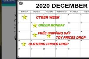The Best December Sales