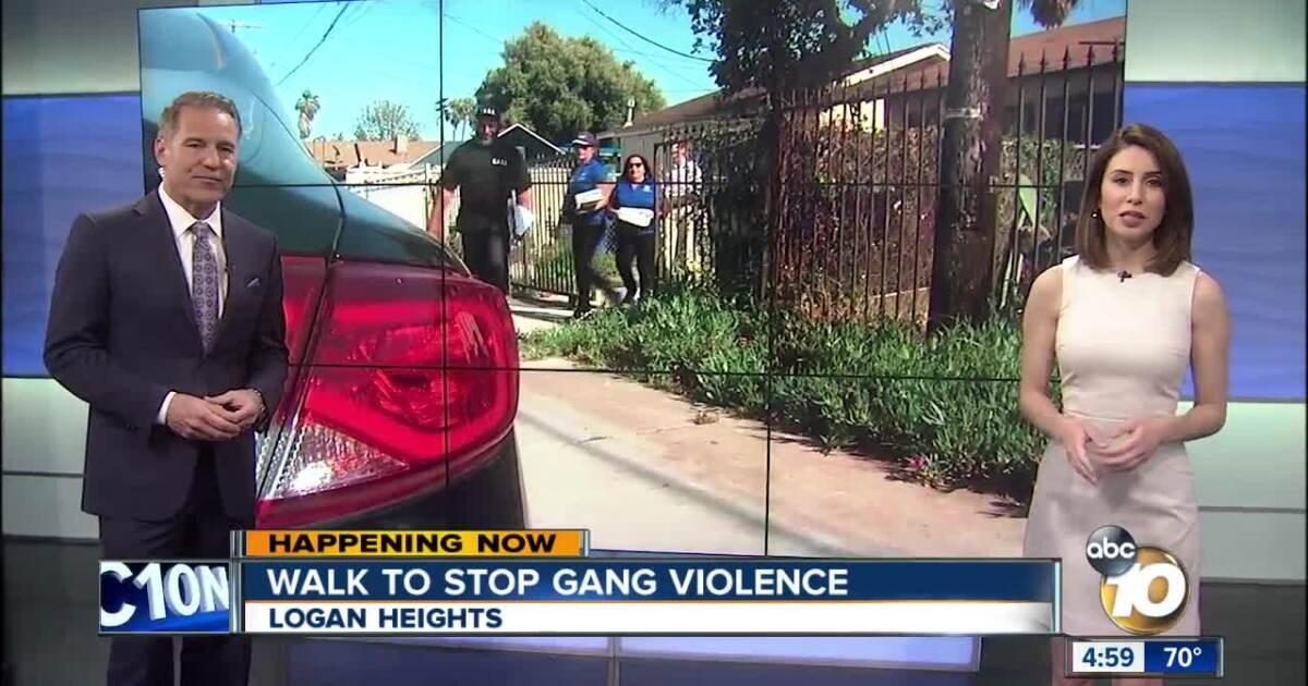 Former Crips gang member goes door-to-door to stop gang violence