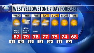 Cooling trend begins Thursday