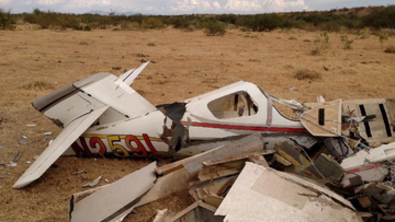 Pilot dies in plane crash near Willcox