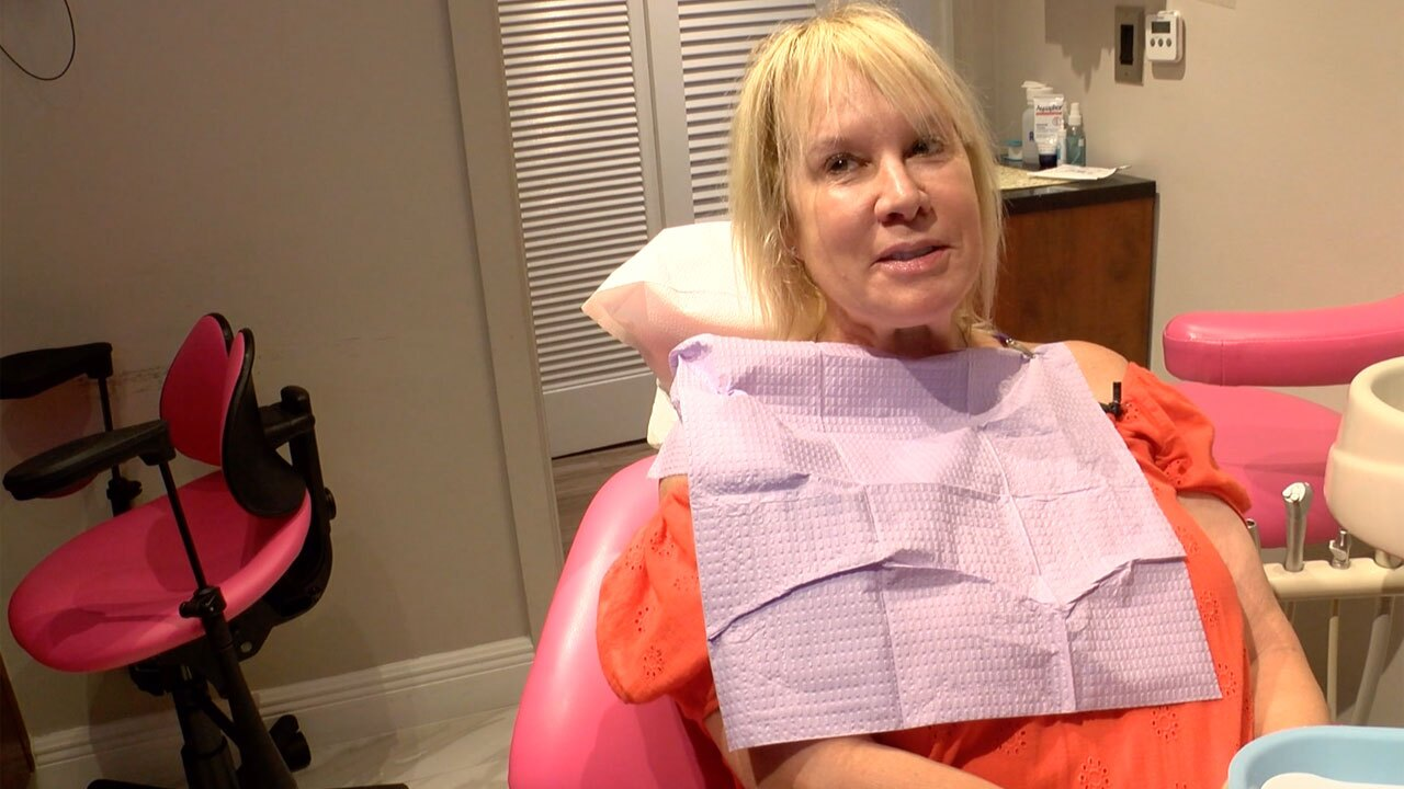 Dental patient Sharon Lowery
