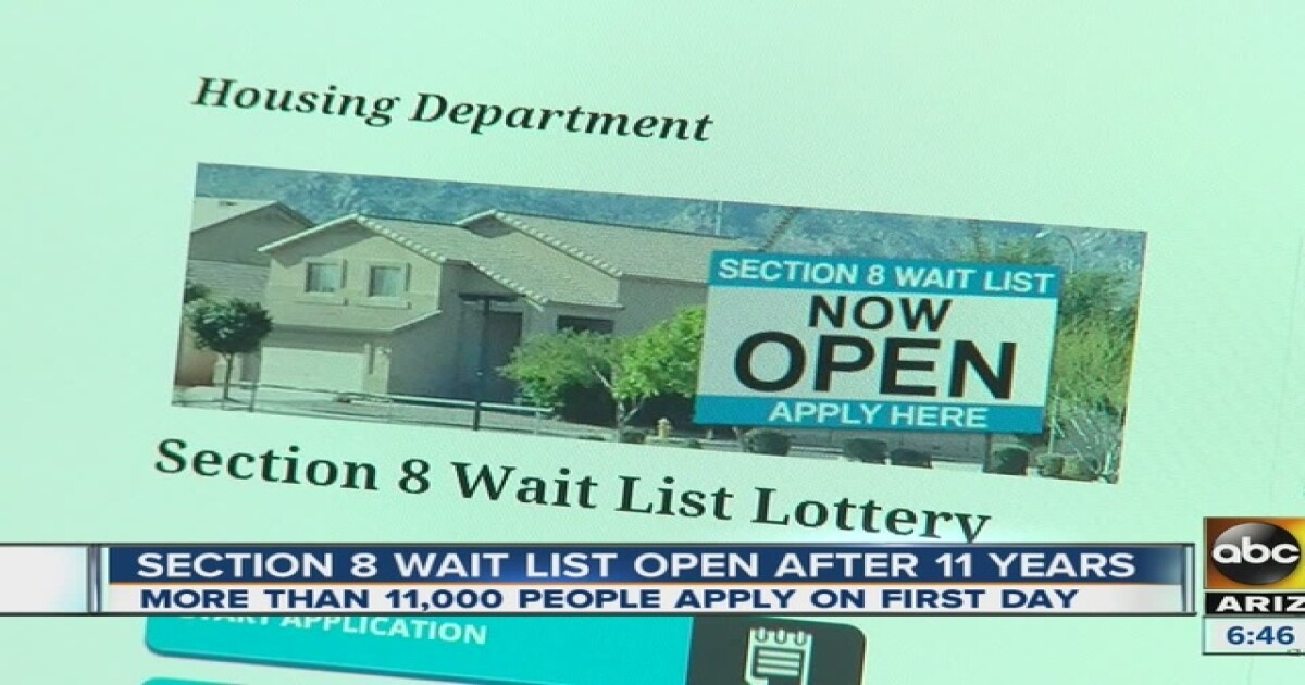 For first time in 11 years, Department of Housing is opening