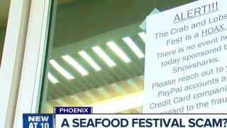 Dozens say they were scammed by 'Crab and Lobster Feast' event in Phoenix