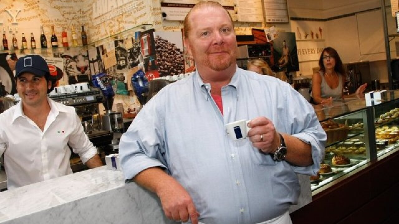 Mario Batali sued by woman who claims he groped her