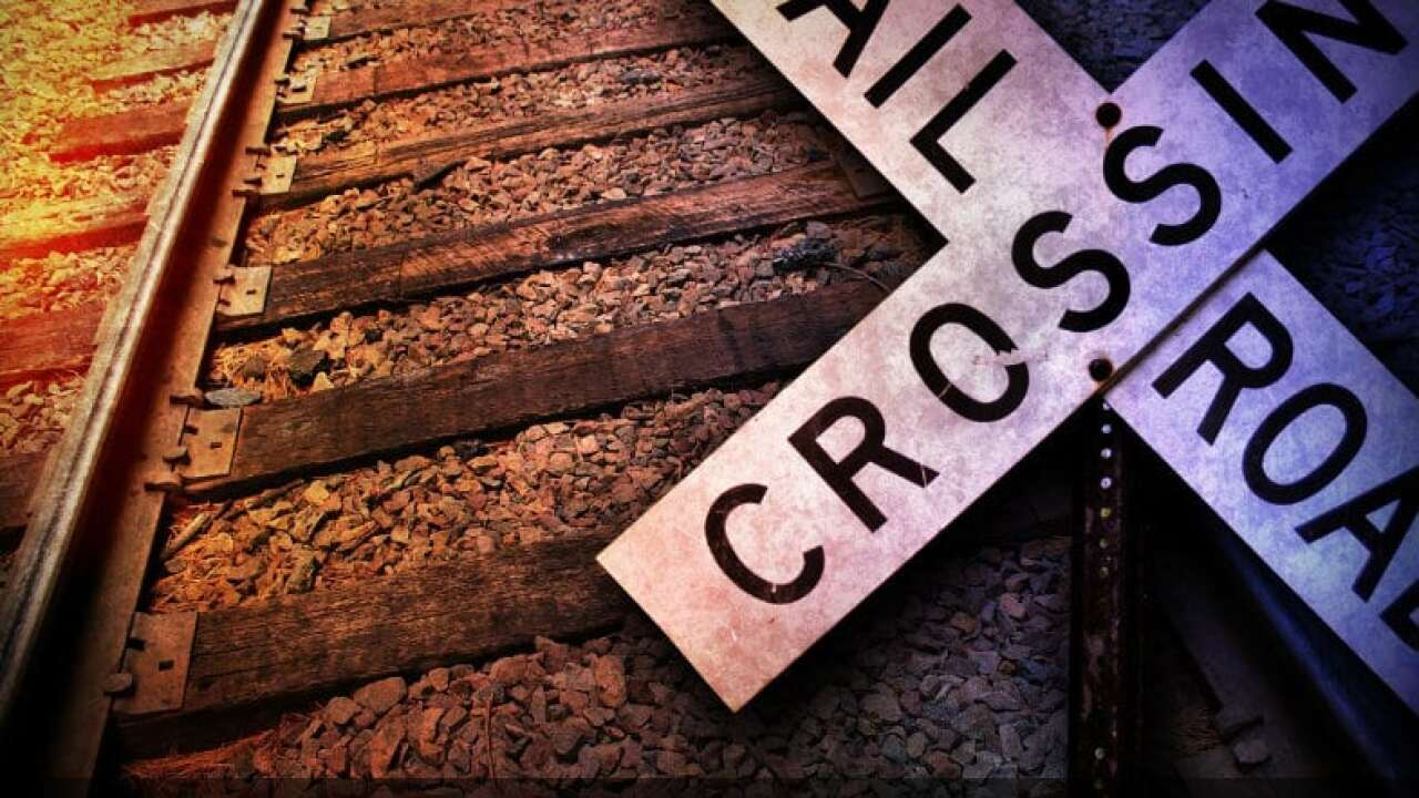 Train and vehicle collide in Basile