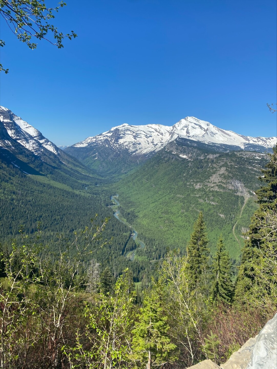 Plowing continues along Glacier National Park's Going-to-the-Sun Road