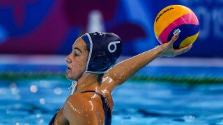 U.S. women start charge for third straight water polo gold with blowout win over Japan