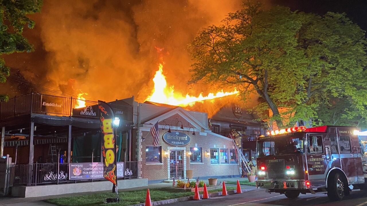 Popular Lewiston brewery and restaurant severely damaged in overnight fire