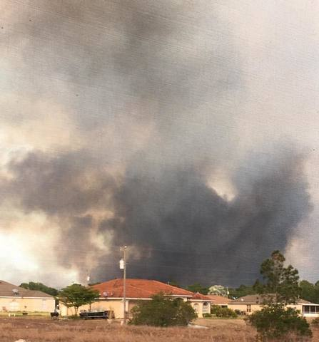 Lehigh Acres wildfire photos