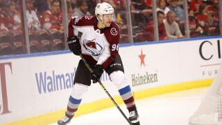 Avs' Rantanen listed as week to week with lower-body injury