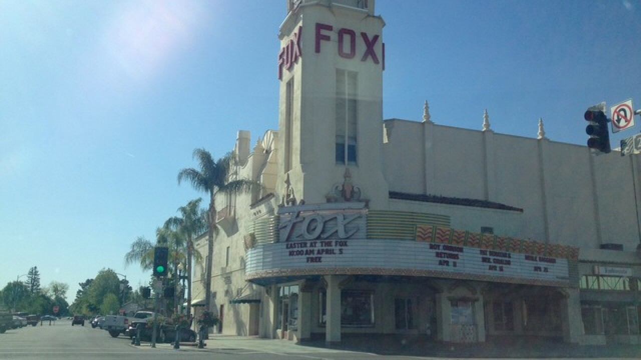 Fox Theater looking for 400 audience members for Hollywood movie being filmed in Bakersfield