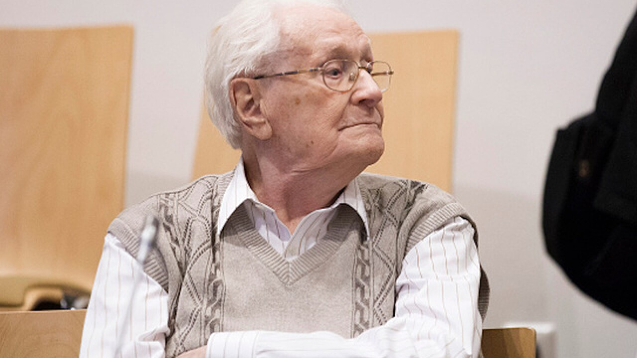 Former Nazi known as 'bookkeeper of Auschwitz' dies before serving sentence