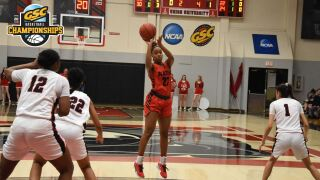Lady Blazers' Season Ends in GSC Quarterfinal at Top-Seeded Union