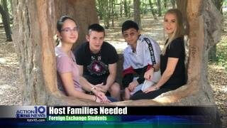 The need for host families to house foreign exchange students in the Coastal Bend grows