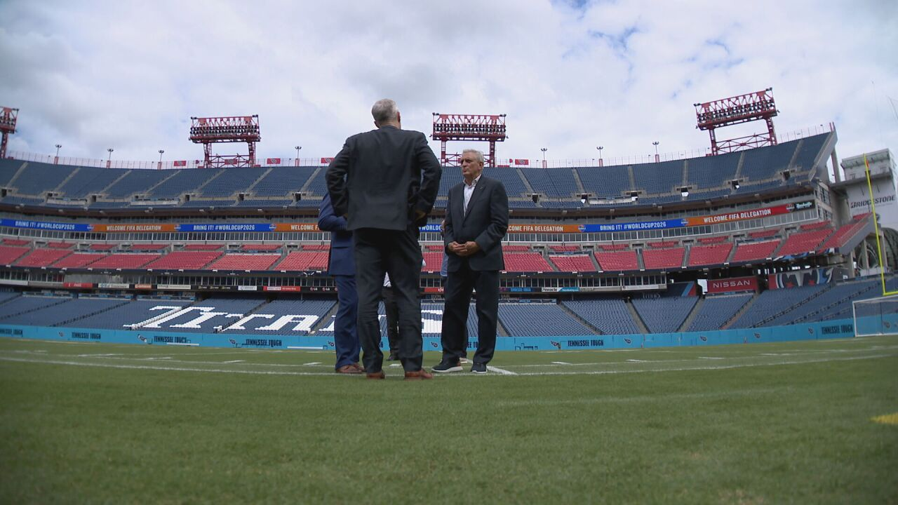 FIFA executives visit Nashville