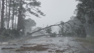 Hurricane Micahel brings destructive water and wind