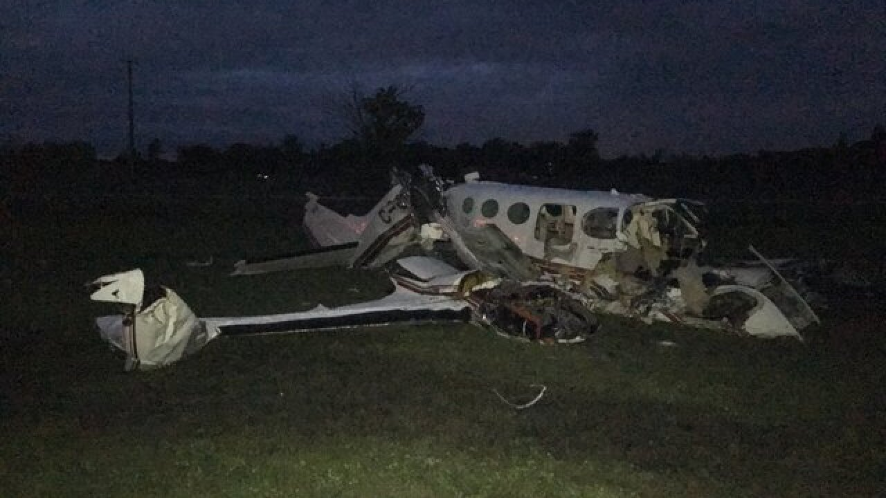One dead in plane crash in St. Clair County