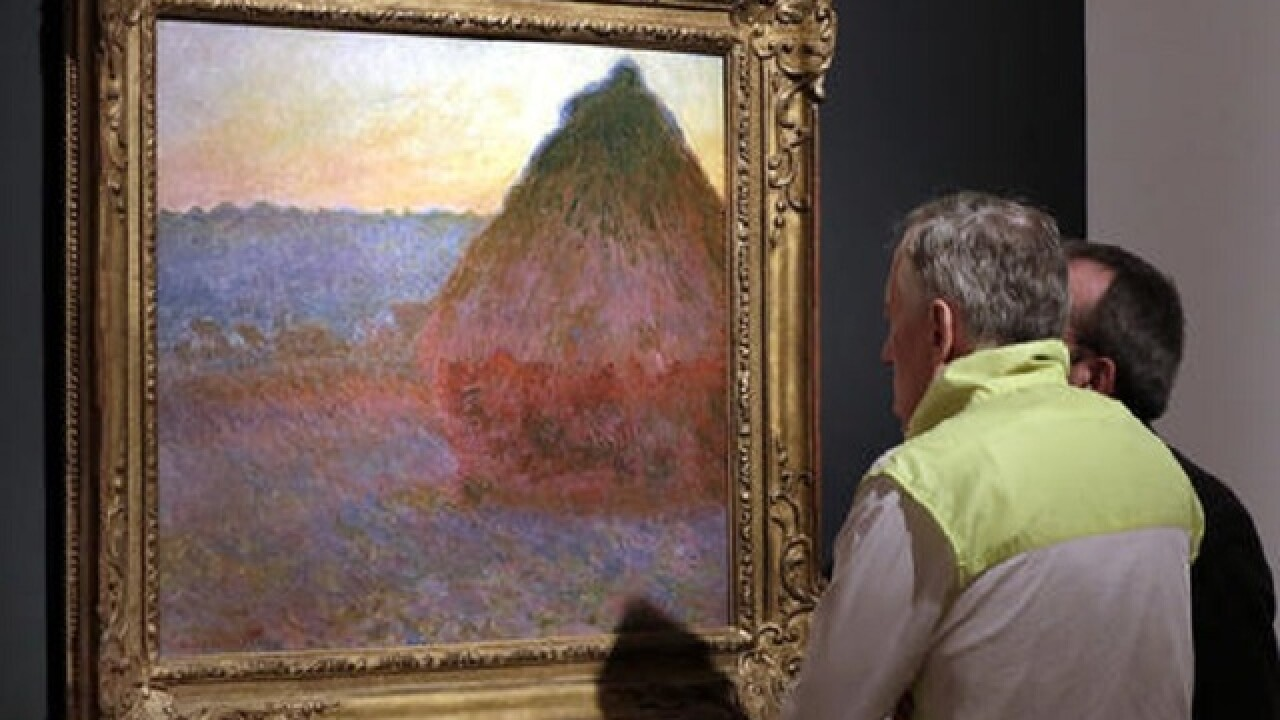 Claude Monet painting fetches $81.4M in NYC auction