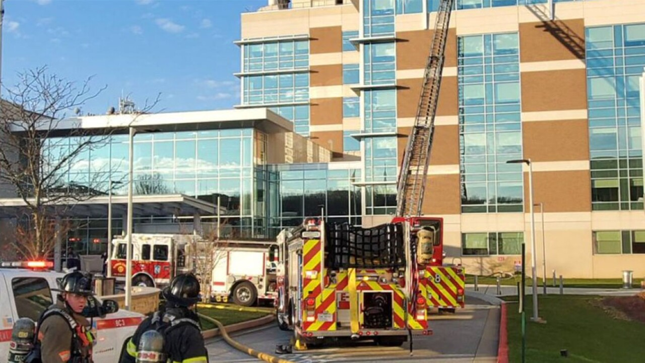 Employee charged in setting fires at MedStar Franklin Square Medical Center over the weekend.jpg