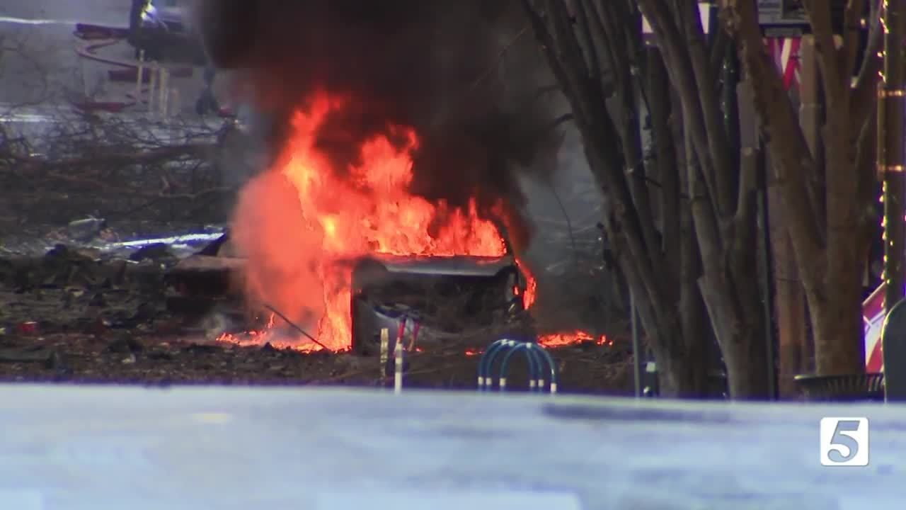 PHOTOS: Police say Christmas Day explosion in Nashville was 'intentional act'