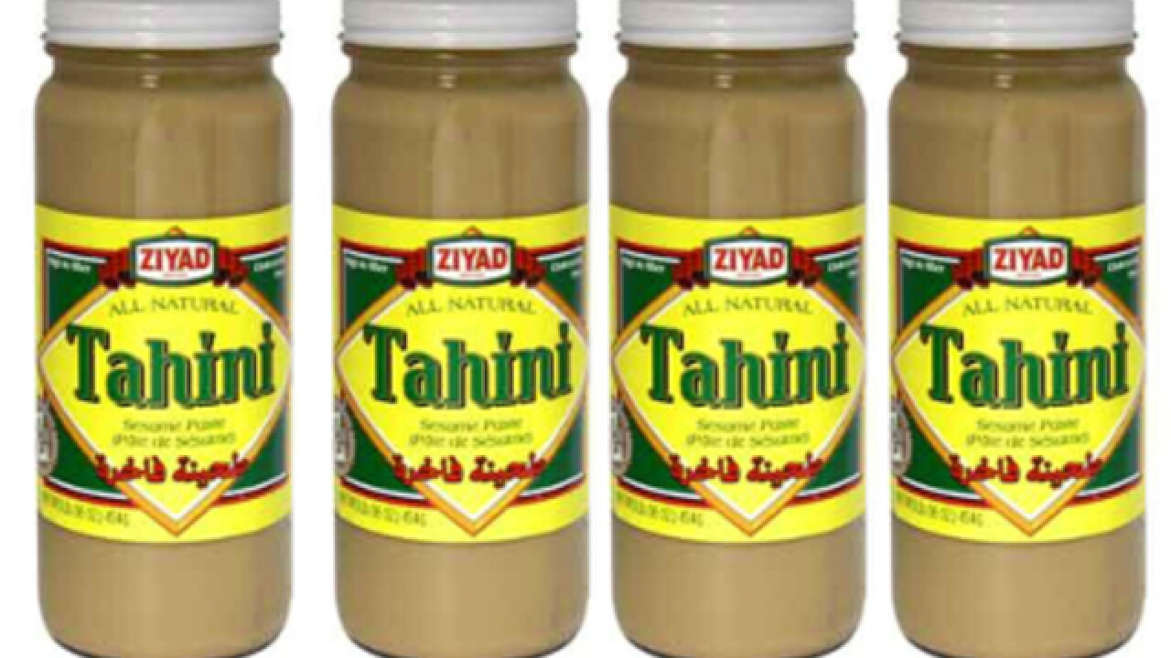 Tahini Paste recall because of possible health risk