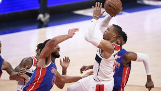 Russell Westbrook Pistons Wizards Basketball