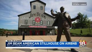 Jim Beam offers Airbnb experience on distillery grounds
