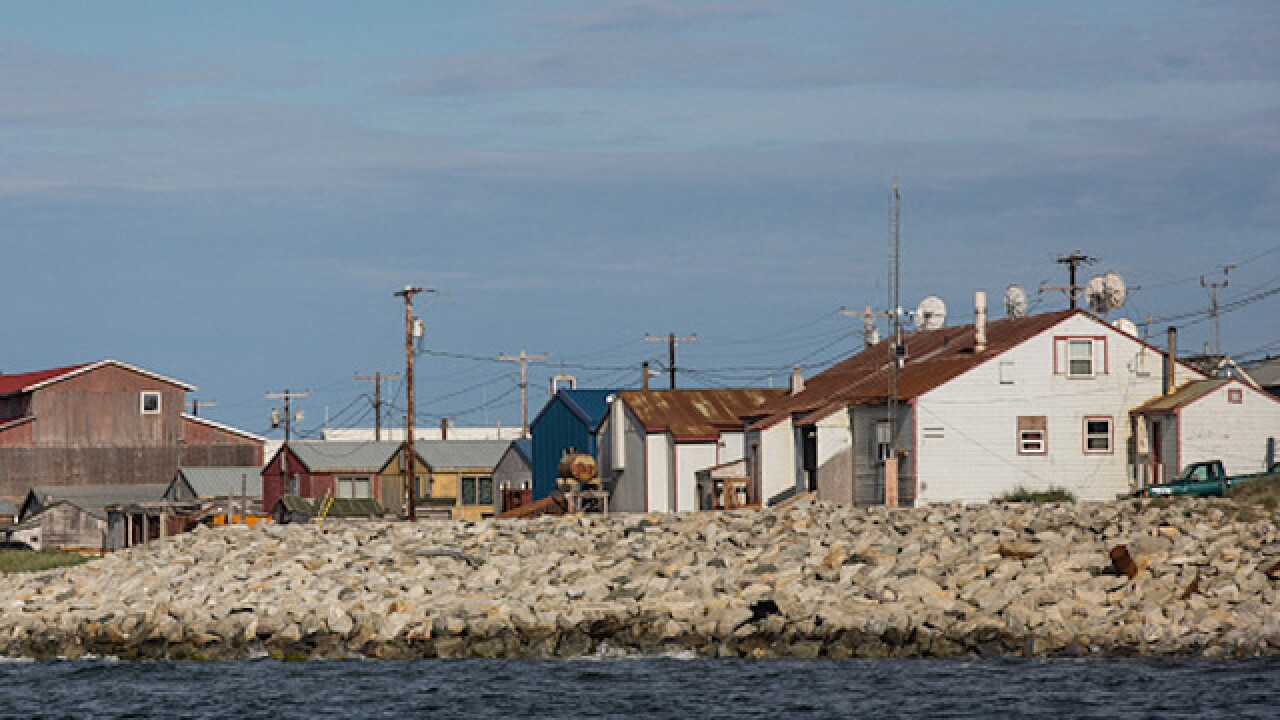 Eroding Alaska village to vote on whether to move or stay