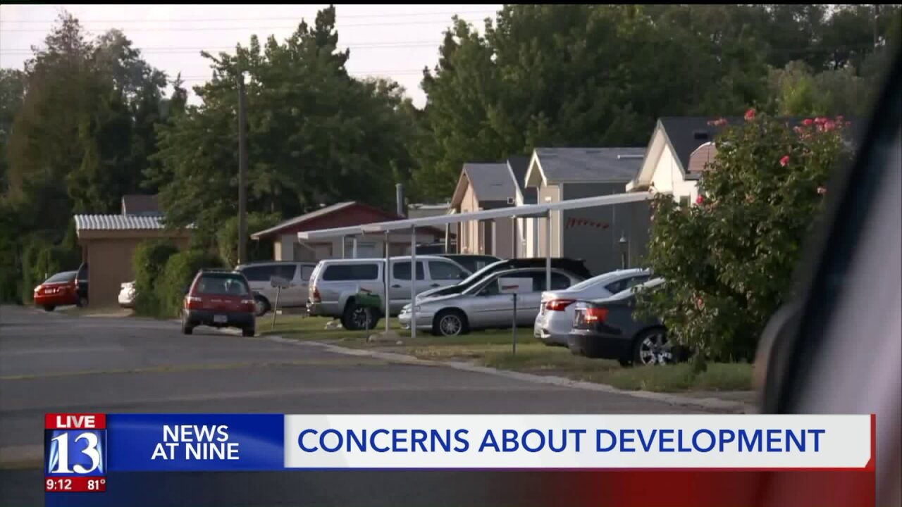 Neighbors concerned about future Sandy development