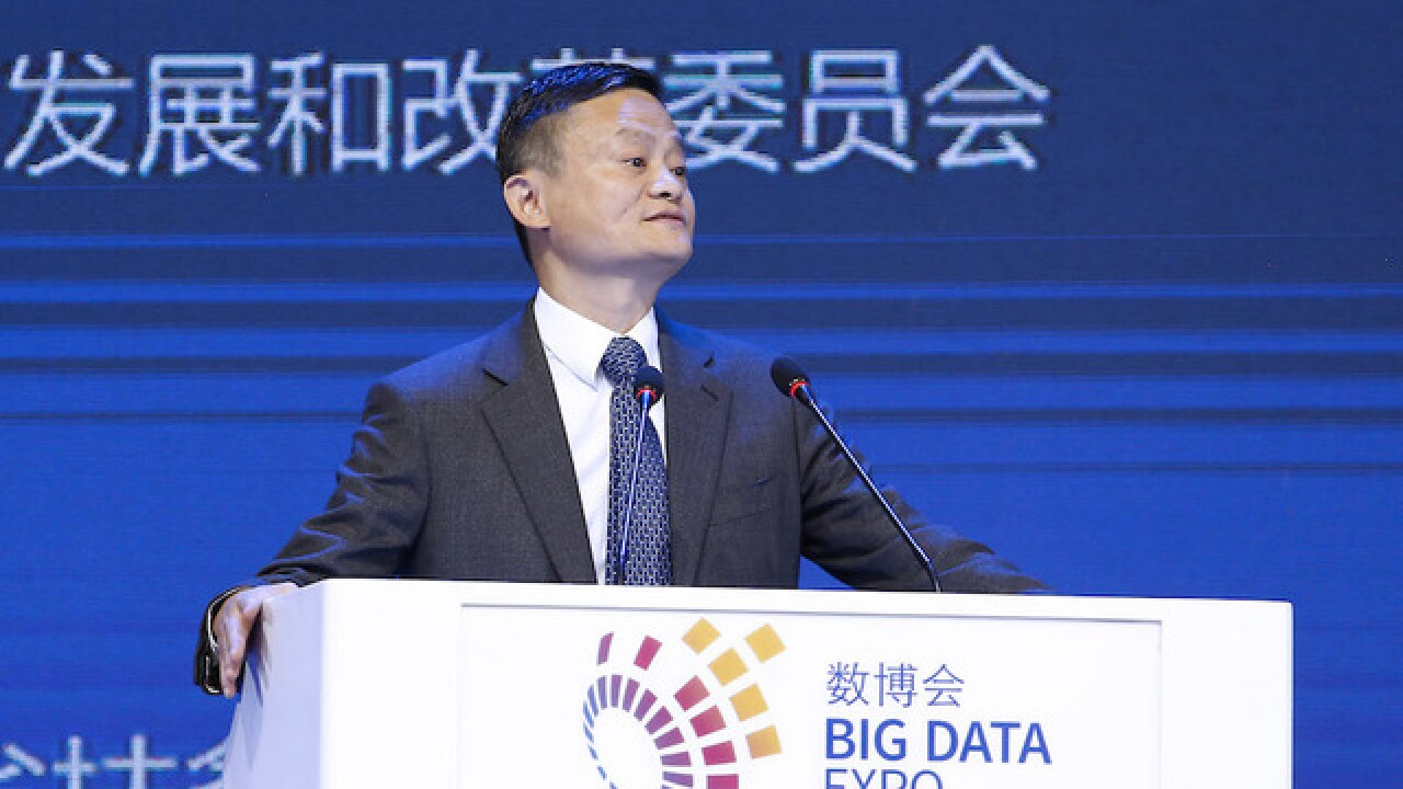 Jack Ma will step down from the top job at Alibaba next year