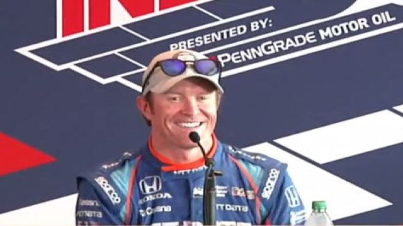 Scott Dixon wins pole for 101st Indianapolis 500 with fastest time since 1996