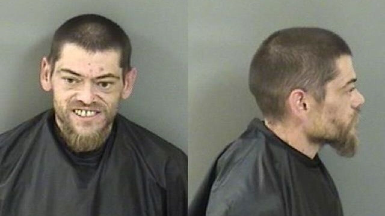 Florida man high on meth climbs onto stranger's roof to howl, deputies say