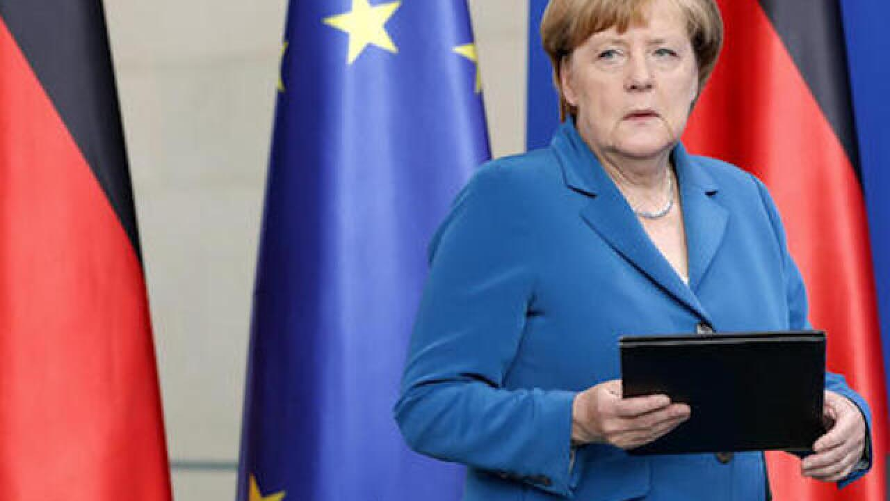 Merkel pledges justice after IS attacks