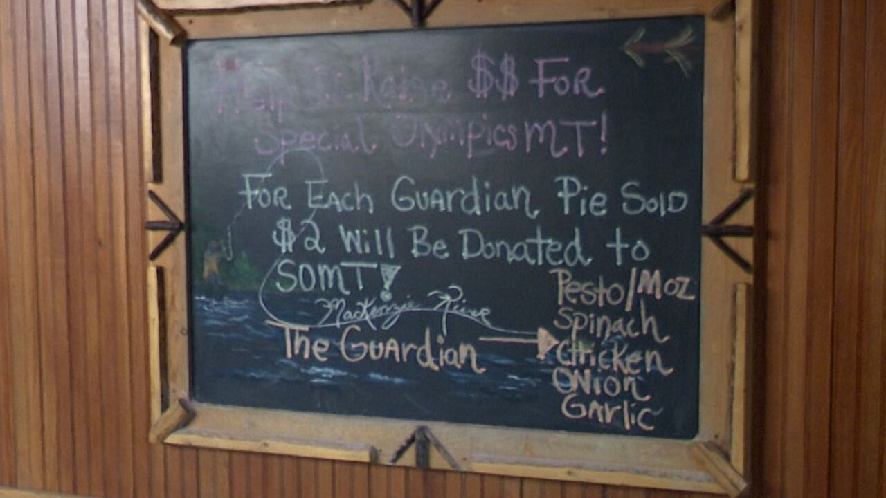 Special Olympics Montana fundraiser underway at MacKenzie River Pizza