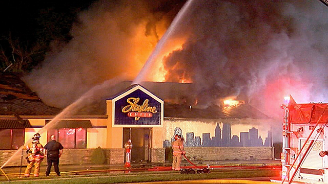 Fairfield Skyline Chili destroyed in fire