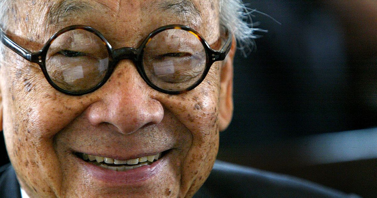 Renowned architect I.M. Pei dies at age 102