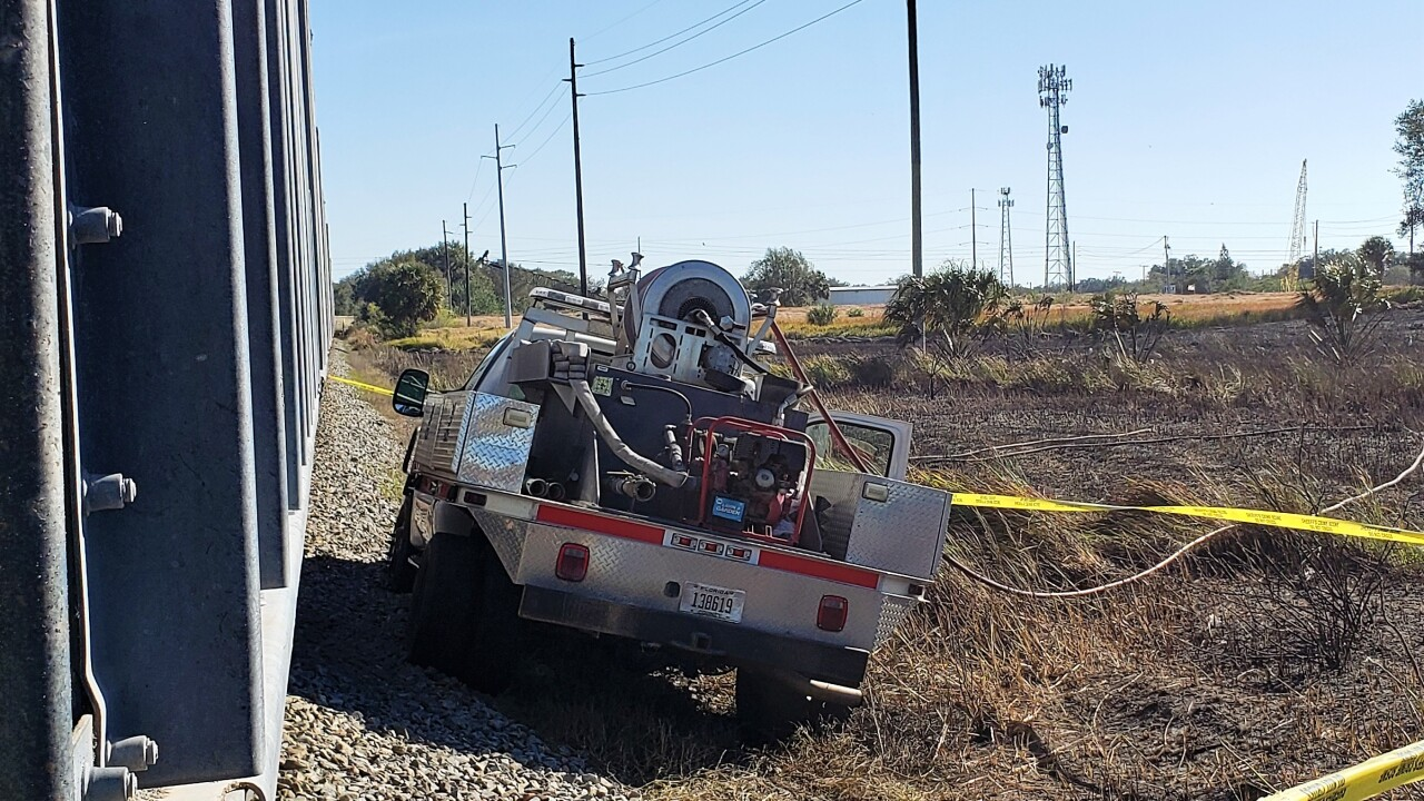 Firefighter Hit by train 2