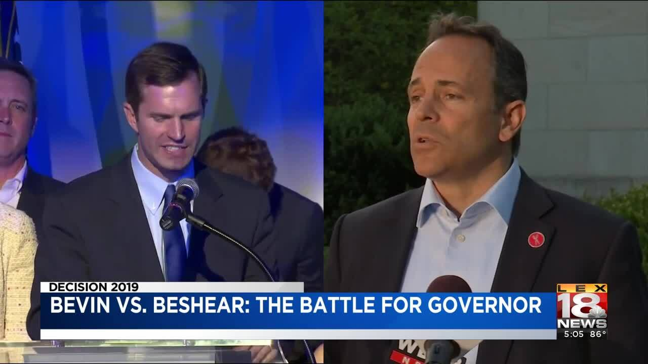 Beshear Responds To Bevin's Campaign Video