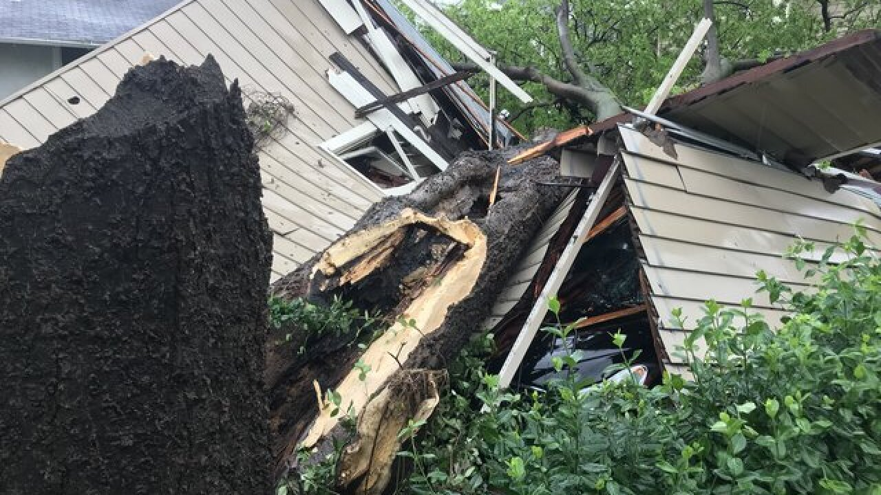 Midtown Tulsa apartment collapses after storms